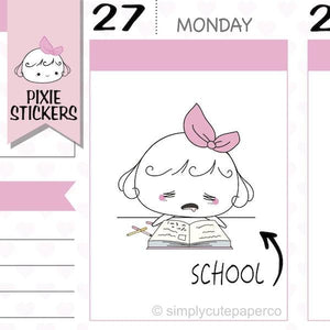P073 | college stickers TwinkleTheUnicorn