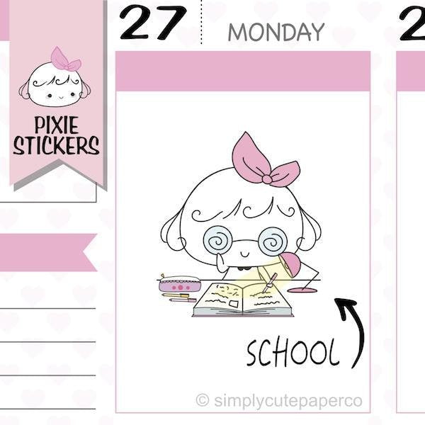 P077 | back to school stickers TwinkleTheUnicorn