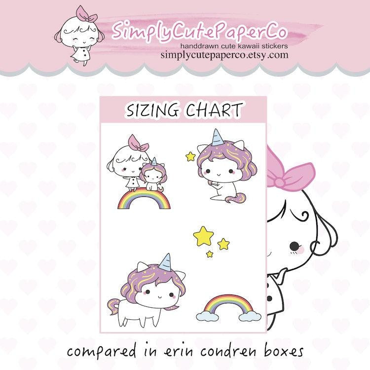 P111 | reminder stickers TwinkleTheUnicorn