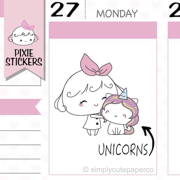 P116 | daily stickers TwinkleTheUnicorn