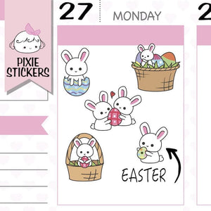 P140 | happy easter stickers TwinkleTheUnicorn