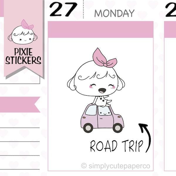 P152 | road trip planner stickers TwinkleTheUnicorn