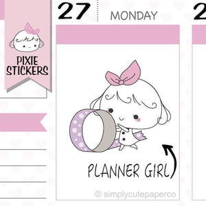 P204 | girl boss planner stickers TwinkleTheUnicorn