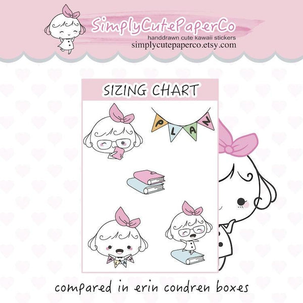P206 | girl boss planner stickers TwinkleTheUnicorn