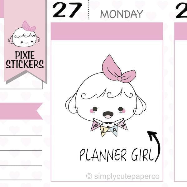 P209 | girl boss planner stickers TwinkleTheUnicorn