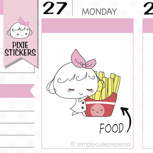 P213 | fast food stickers TwinkleTheUnicorn
