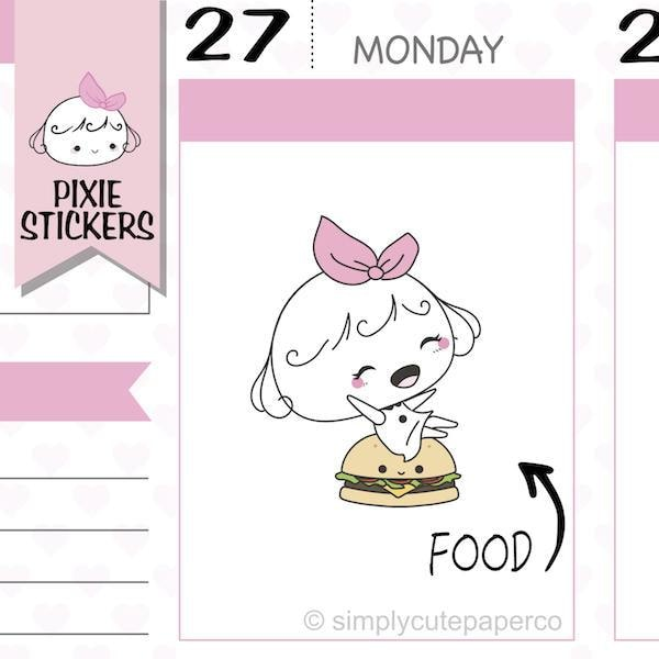 P216 | fast food stickers TwinkleTheUnicorn