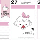P261| summer stickers TwinkleTheUnicorn
