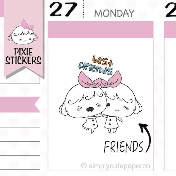 P270 | best friends stickers TwinkleTheUnicorn