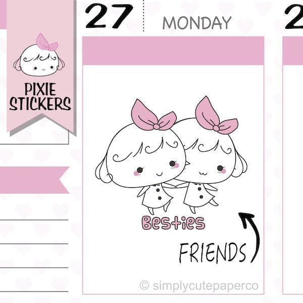 P272 | best friends stickers TwinkleTheUnicorn