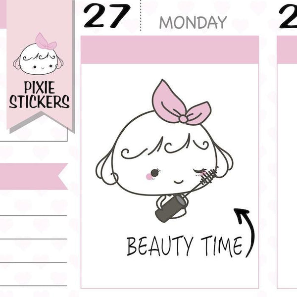 P308 | beauty planner stickers TwinkleTheUnicorn