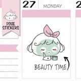 P312 | beauty planner stickers TwinkleTheUnicorn