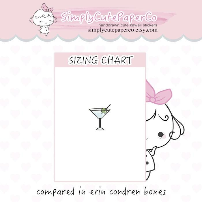 P317 | cocktail stickers TwinkleTheUnicorn
