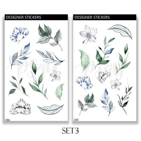 Sea Live Plants Sticker Set 246 3