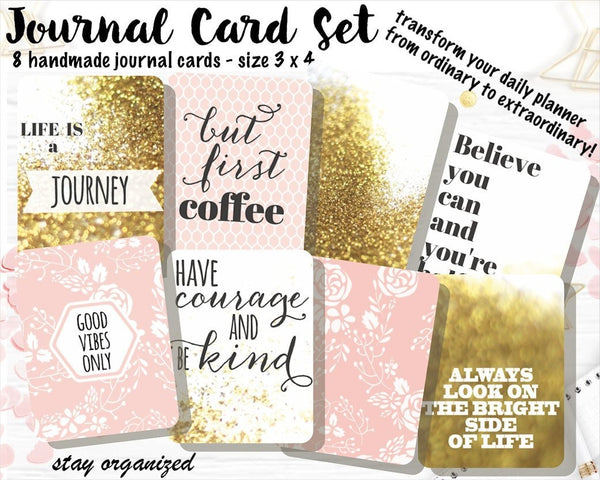 Project Life Cards JC010 EmelysPlannerShop