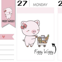 PW008 | shopping stickers TwinkleTheUnicorn
