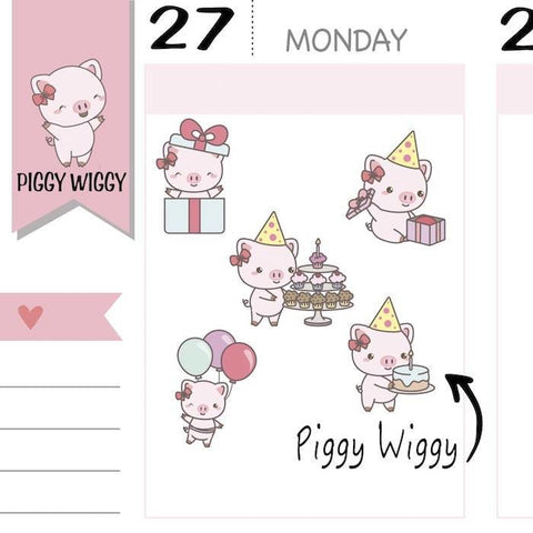PW028| birthday stickers TwinkleTheUnicorn