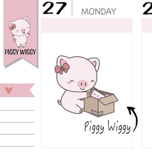 PW031 | happy mail planner stickers TwinkleTheUnicorn