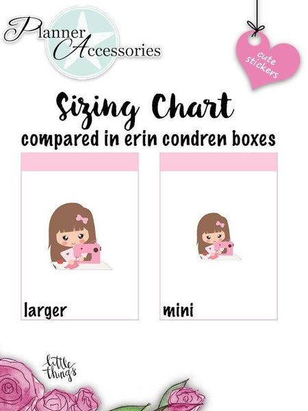 Sewing Stickers NR1373 EmelysPlannerShop