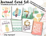 Summer Journal Cards JC014 EmelysPlannerShop