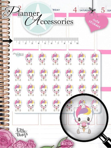Unicorn Stickers 1593 EmelysPlannerShop
