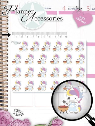 Unicorn Stickers NR1619 EmelysPlannerShop