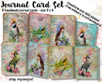 Vintage Journal Cards JC006 EmelysPlannerShop