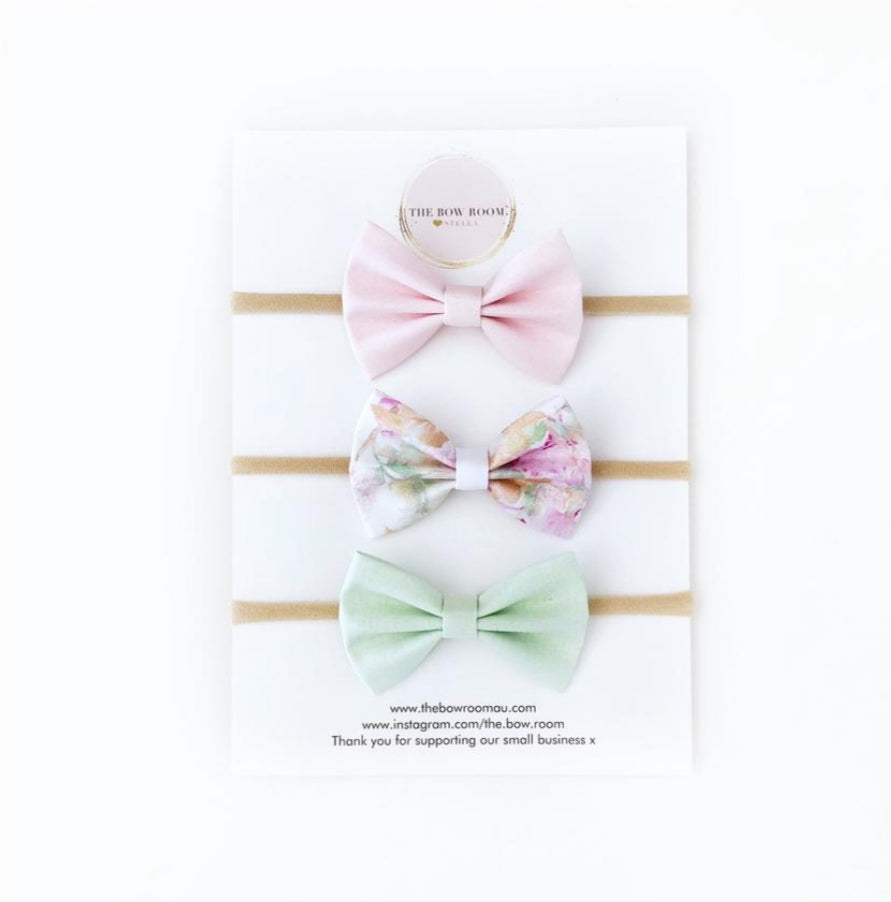 PASTY BOW SET