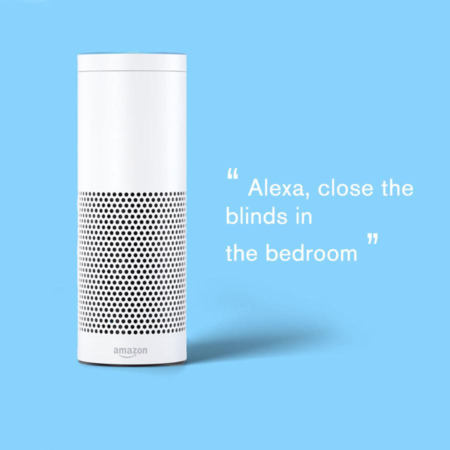 Amazon Alexa with Smart Shades