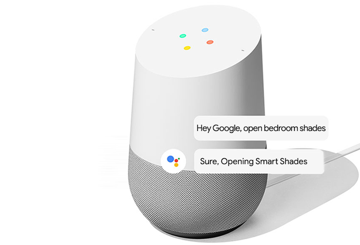 Google Home & Smart Shades