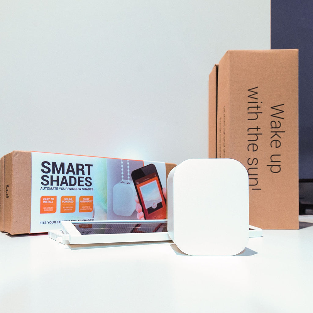 Smart Home Starter Kit - 2x Smart Shades + 2x Free Solar Panels