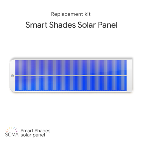 Solar panel for SOMA Smart Shades / SOMA Tilt