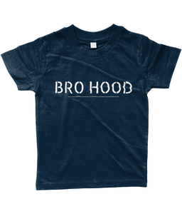 Baby/Toddler Bro Hood T-Shirt Navy