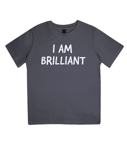 Junior Classic I Am Brilliant T-Shirt