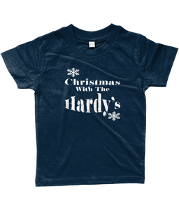 Children's Personalised Unisex Christmas With T-Shirt