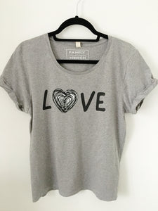 SALE! LOVE Rolled Sleeve T-shirt