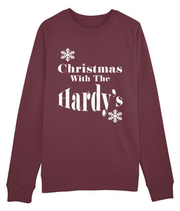 "Personalised ""Christmas With"" Unisex Jumper"