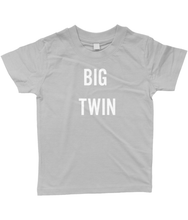 Baby/Toddler Big Twin T-Shirt Black
