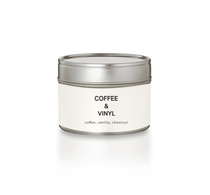 Scented soy candle COFFE&VINYL 100g