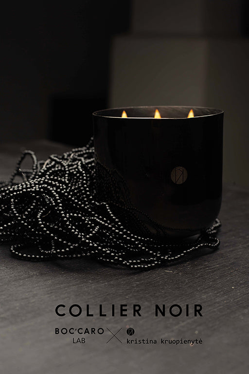 COLLIER NOIR | a collaboration with Kristina Kruopienytė