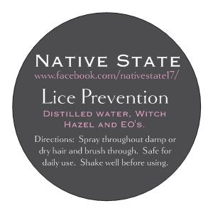 Lice Prevention Spray