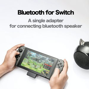 CF020S - Bluetooth Wireless Audio Transmitter for Nintendo Switch and More