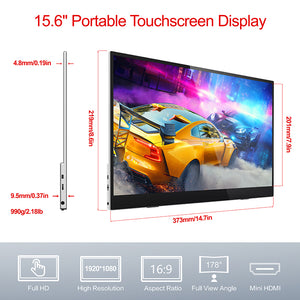 CF016xT - 15.6-inch 144Hz 1080p Ultra-slim Touch Portable Display