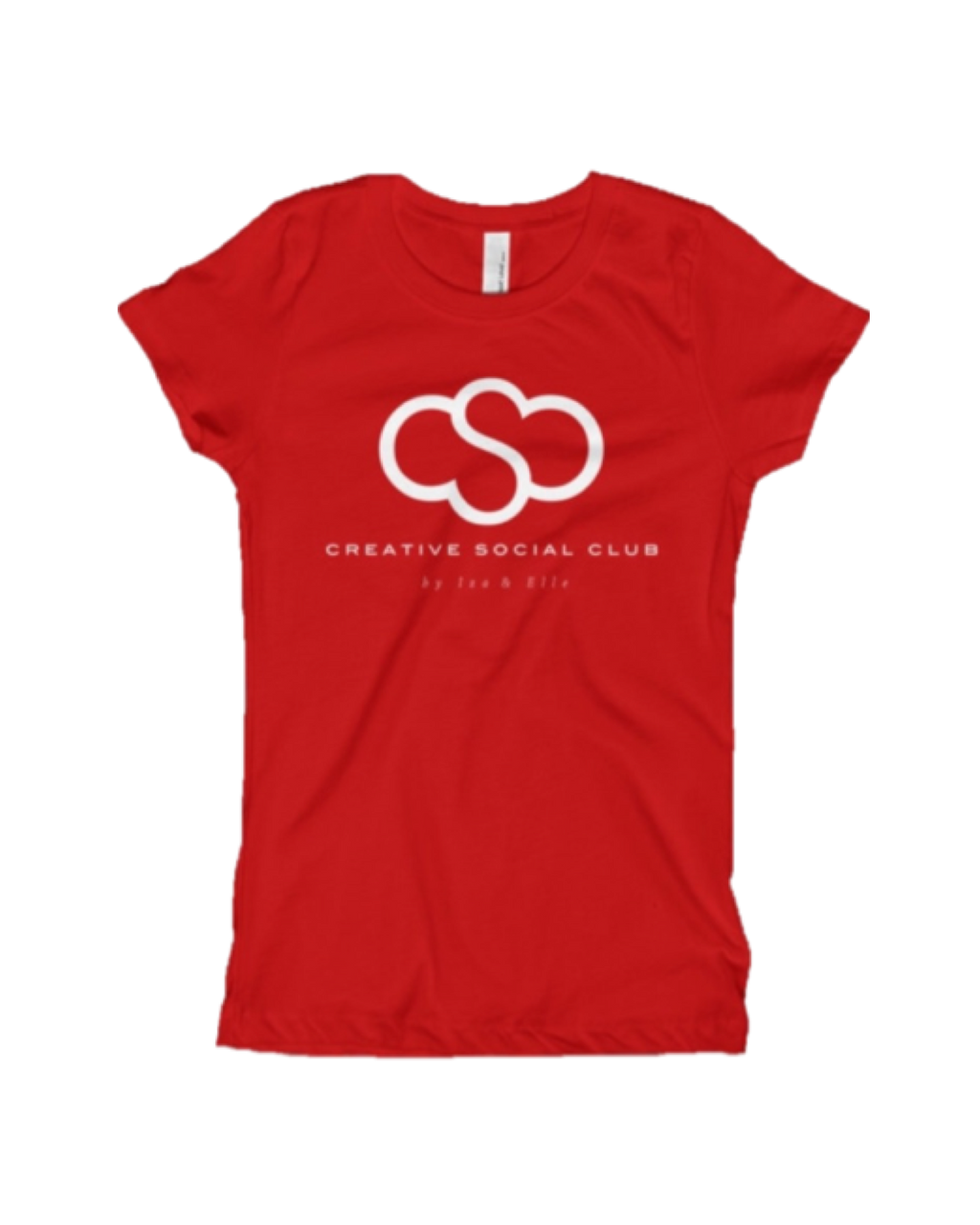 "Red ""Logo"" T-Shirt"