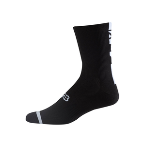 "Fox 8"" Logo Trail Socks - Black"