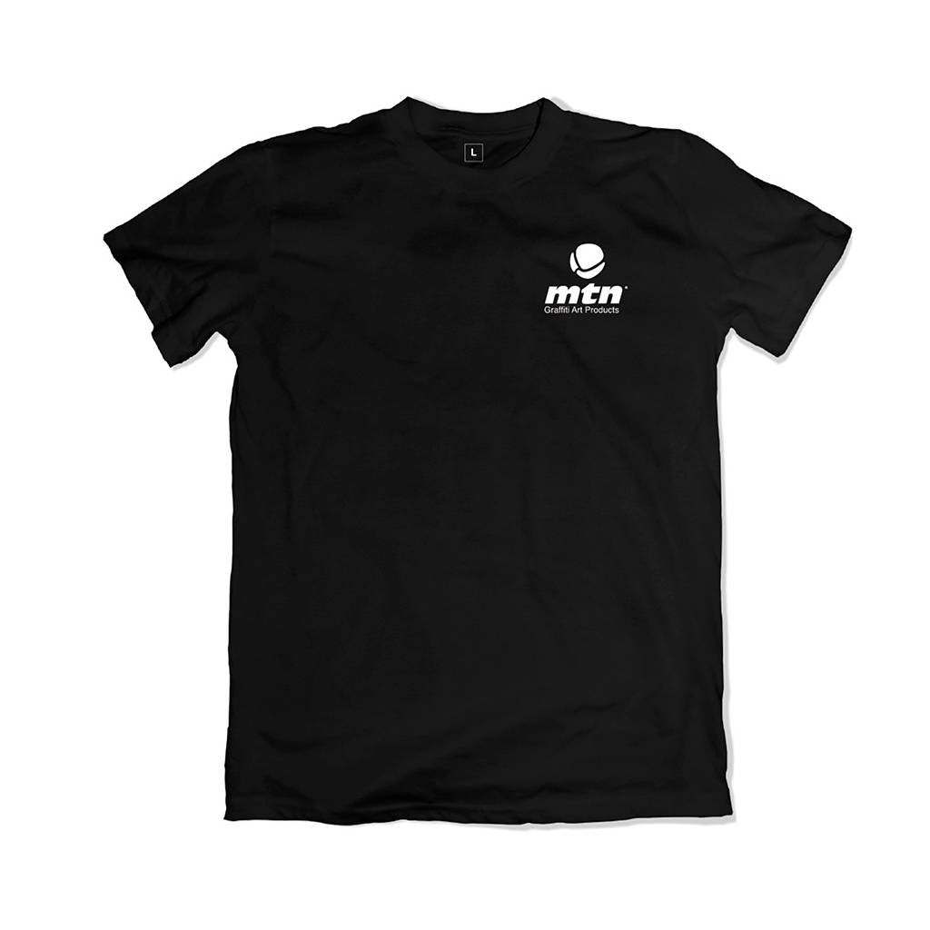 MTN Camiseta Basic Logo Back Negra