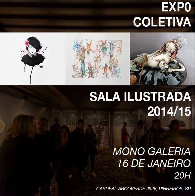 Exhibition at Superloft - Sala Ilustrada