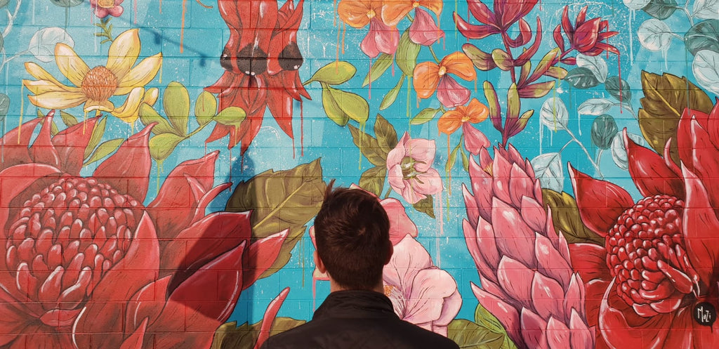 Mural Activation at Broadway Shopping for Sydney Fringe Festival 2018