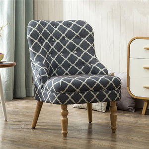 Quilted Design Armchair - 3 Colors