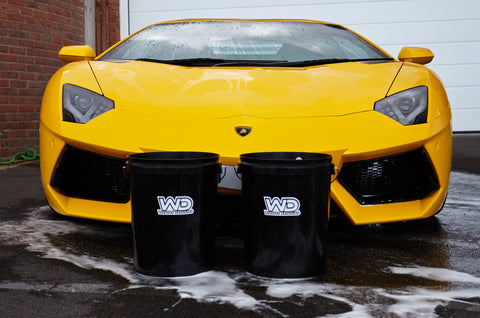 Wash and Rinse Buckets with Grit Guards